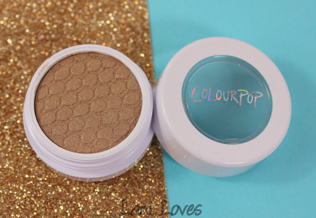 ColourPop Super Shock Shadow - Smash Swatches & Review