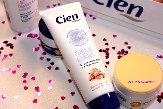 Crème mains Hydro - Cien by Lidl - Blog beauté Les Mousquetettes©