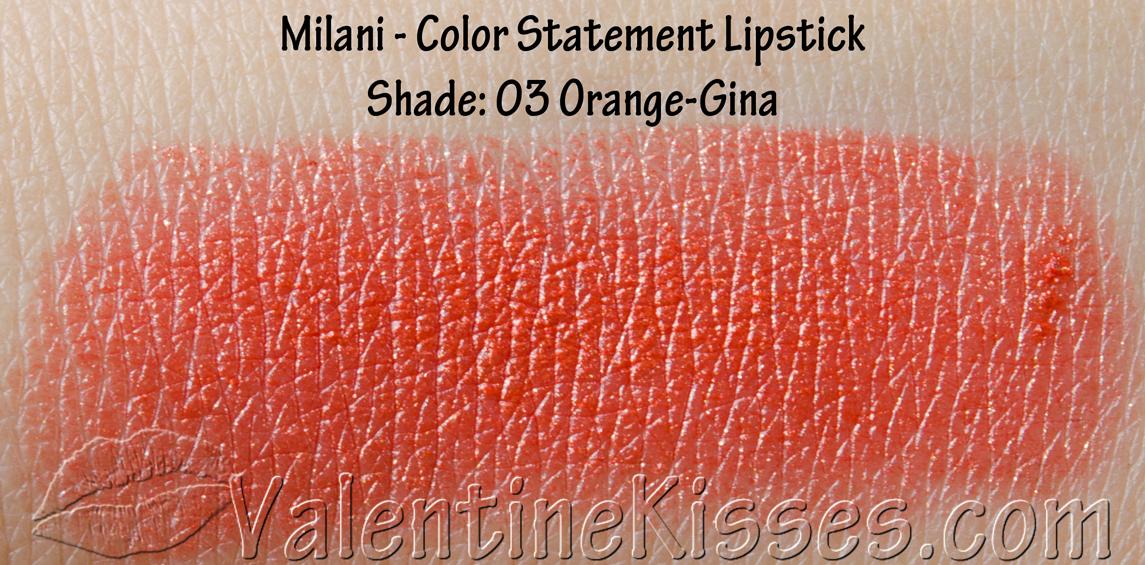 Valentine Kisses Milani Color Statement Lipstick For