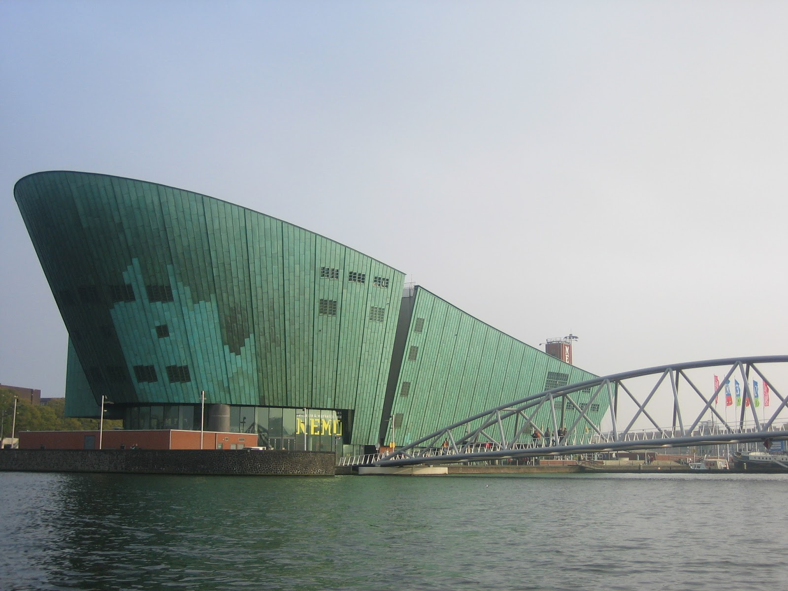 family-friendly Amsterdam - The Nemo Science Museum