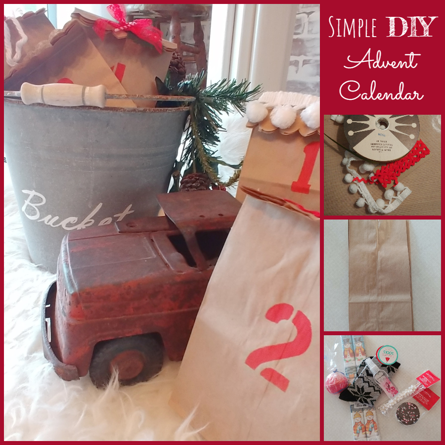 Simple DIY Advent Calendar - Twelve Days of Christmas Ideas