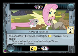 My Little Pony Anxious Animals Marks in Time CCG Card