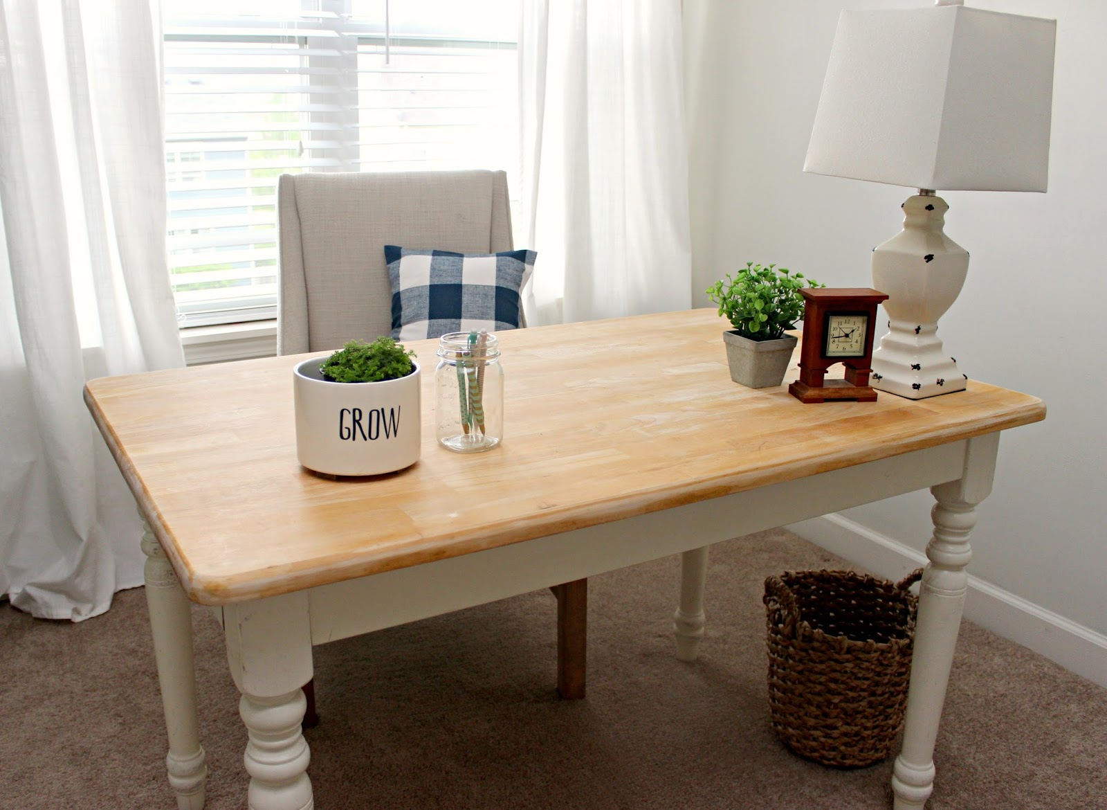Office & Craft Room Reveal: One Room Challenge ...