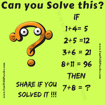 It is Maths Logic Puzzle Question in which you have to decode given logical statement equations and then find the missing number