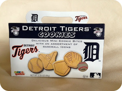 Detroit Tigers Cookies