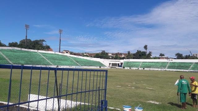 Últimos preparativos no Ademir Cunha para início do sub-17