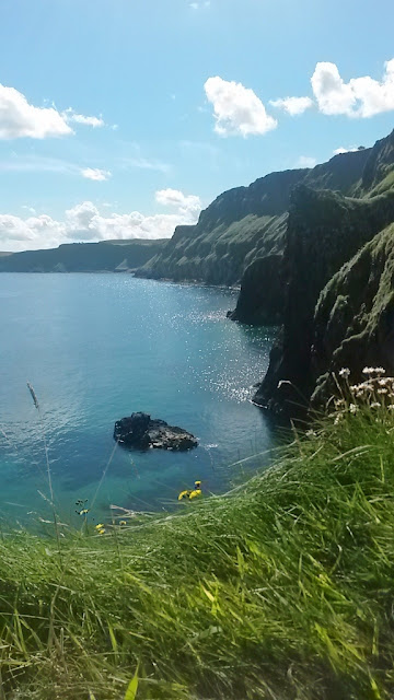 View of sea from Carrick-a-Rede
