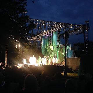 Love's Labor's Lost, Shakespeare in the Common,  Boston Common, by the Commonwealth Shakespeare Company, 2016