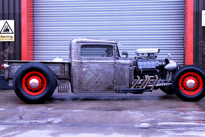 Rodcitygarage 1932 Ford Pick Up Hot Rod