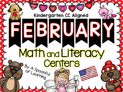 February Centers and FREEBIE!!