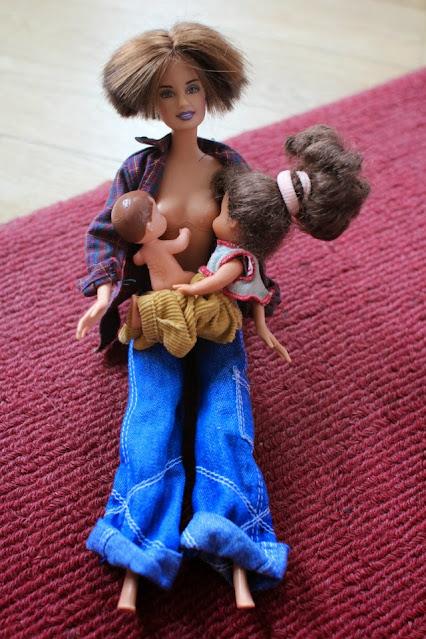 Stillbild Tandemstillen mit Puppen
