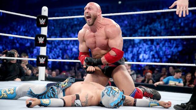 Ryback pourrait à nouveau affronter Kalisto pour le WWE United States Championship