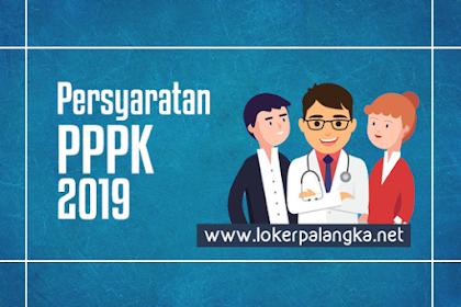 Persyaratan PPPK Tahun 2019