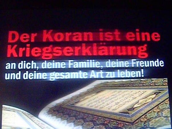 """""""Der Islam gehört nicht zu Deutschland"""""""