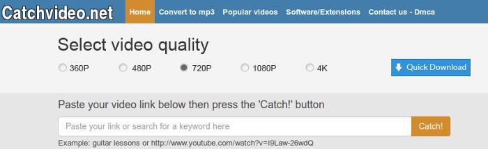 fazer downloads de videos da internet com o catchvideo