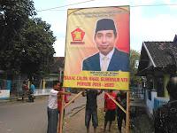 Simpatisan Mori Hanafi Mulai Bergerak, Pasang Baliho di Sejumlah Titik