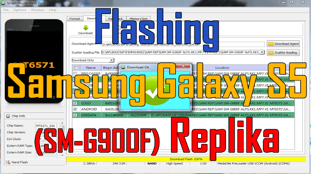 Flashing Samsung Gakaxy S5 (SM-G900F) Replika