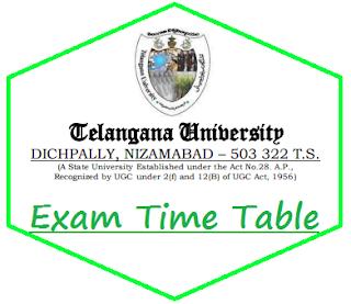 TU Degree Time Table 2019