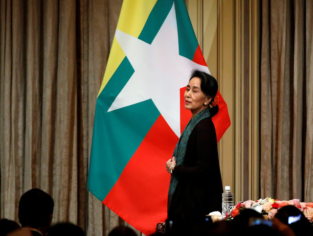 Anies Baswedan Kecam Aung San Suu Kyi