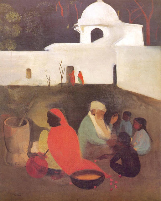 amrita sher-gil ancient story tellers