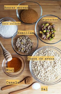 Granola casera Bulalaica