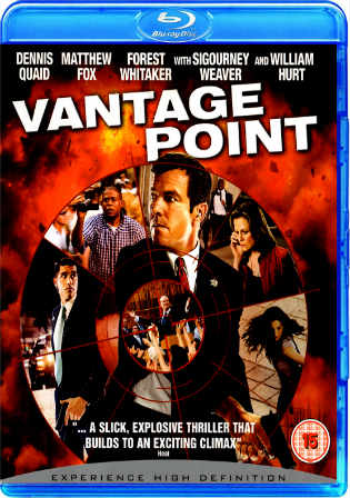 Vantage Point 2008 BluRay 300MB Dual Audio 480p Watch Online Full Movie Download bolly4u