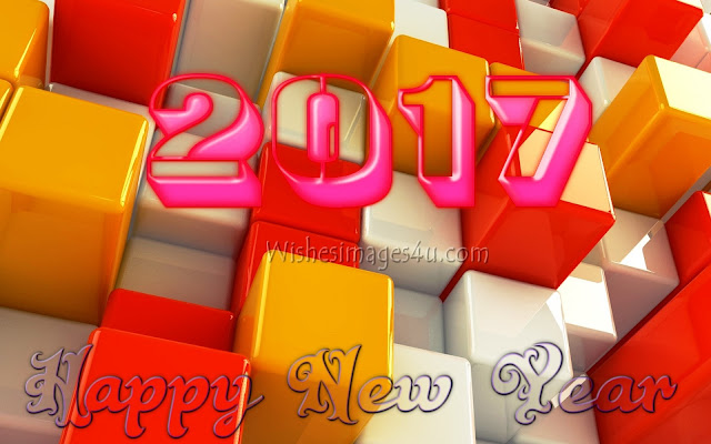New Year 2017 3D {HD} Photo Download For Desktop/pc