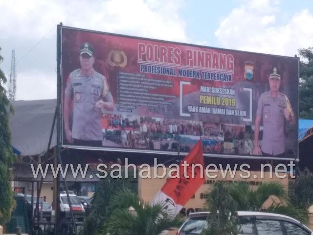 Kapolda Sulsel Irjen Pol Hamidin Kunjungi Pinrang, Ini Agendanya,!
