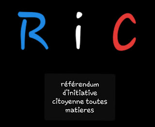 French Yellow Vests demand Government to move on introducing referendum and initiative rights in France named RIC meaning référendum d'initiative citoyenne