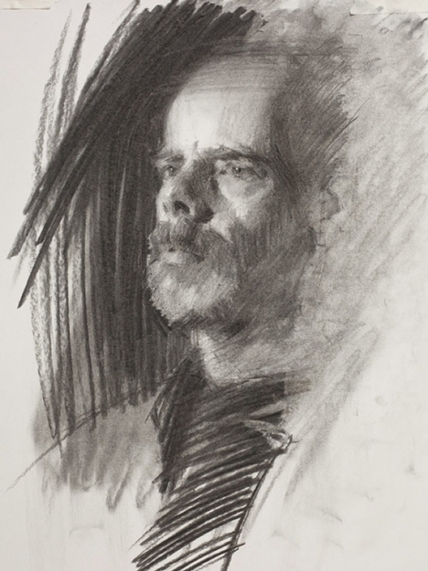07-Julian-Louis-Smith-Charcoal-Portrait-Study-Drawings-www-designstack-co