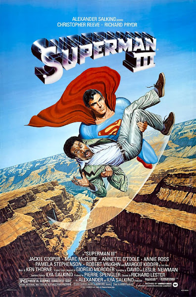 Poster of Superman 3 (1983) 720p [English-DD5.1] BluRay ESubs Full Movie Download