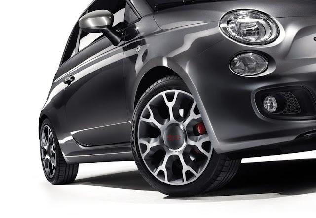 2013 Fiat 500S Wheels