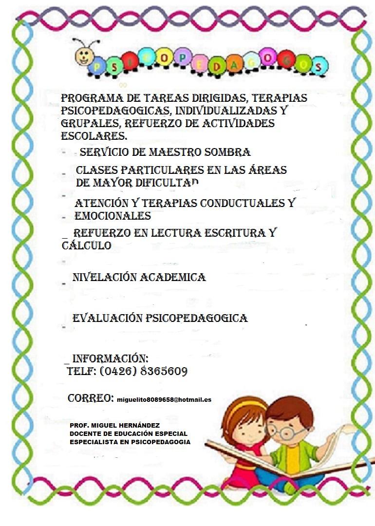 LO QUE DEBES SABER DE LA EDUCACIÓN ESPECIAL EN VENEZUELA: 03/12/16