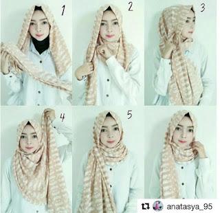 Cara Memakai hijab yang Modern dan Simple