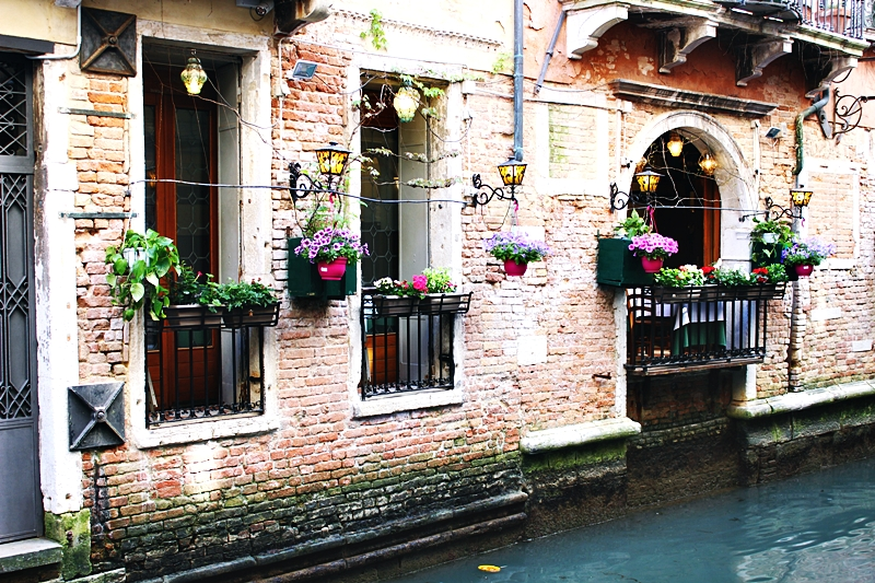 Beautiful Venice canals