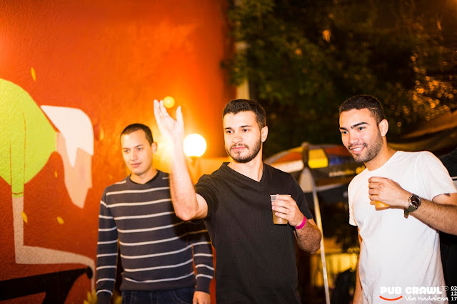 Pub Crawl SP no Bar do Betinho na Vila Madalena