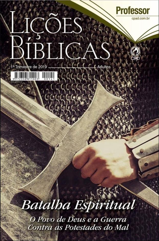 Download Lição Bíblica Adulto 1º Trimestre de 2019