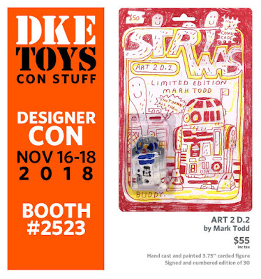 Designer Con 2018 Exclusive ART 2 D.2 Star Wars Resin Figure by Mark Todd x DKE Toys