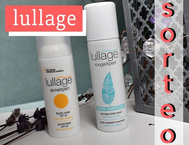 Sorteo de productos para piel sensible de la marca Lullage