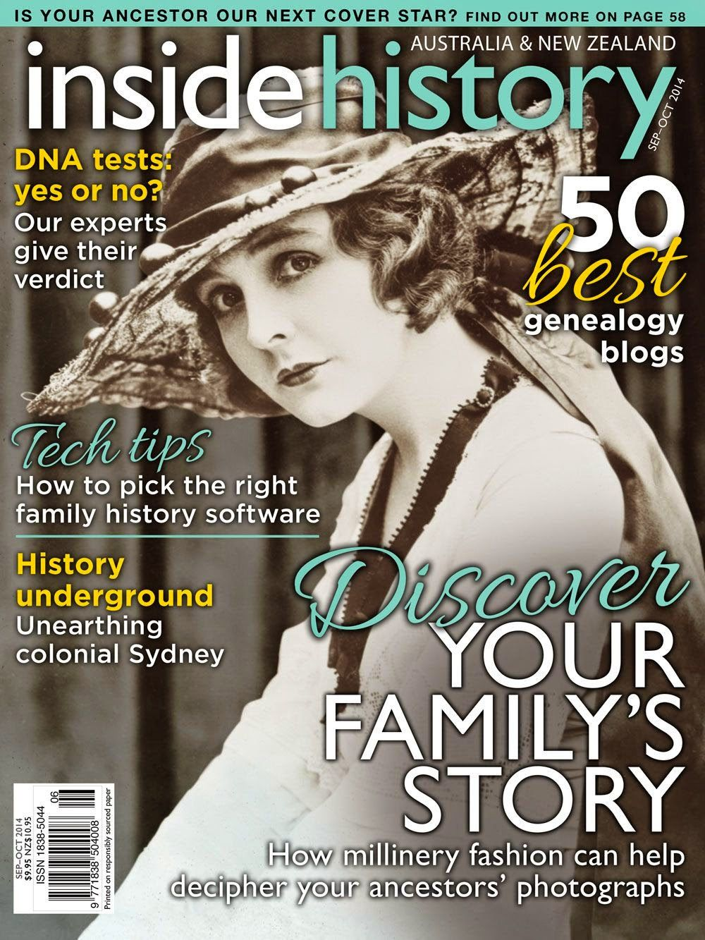 Click to read Inside History now TRACES magazine