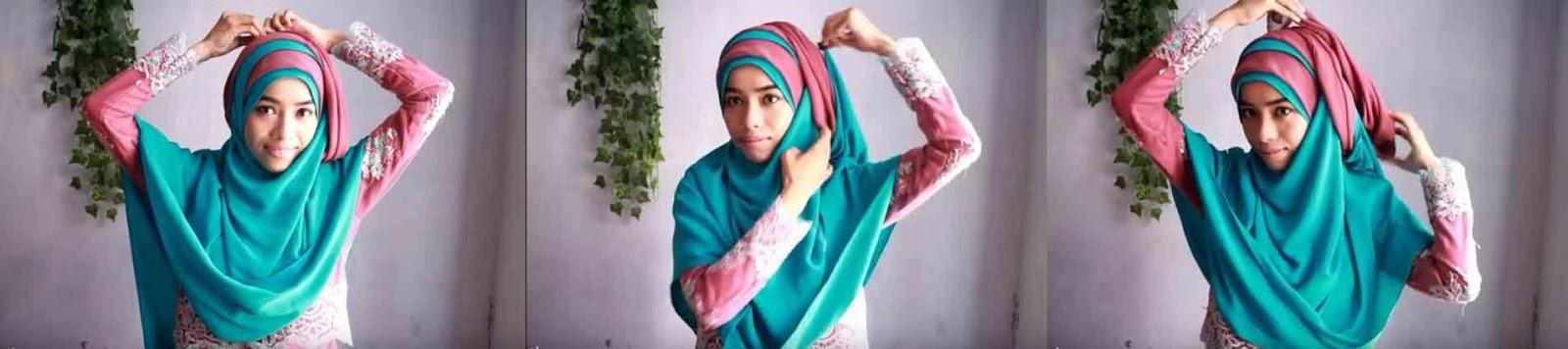 tutorial hijab syar'i 6