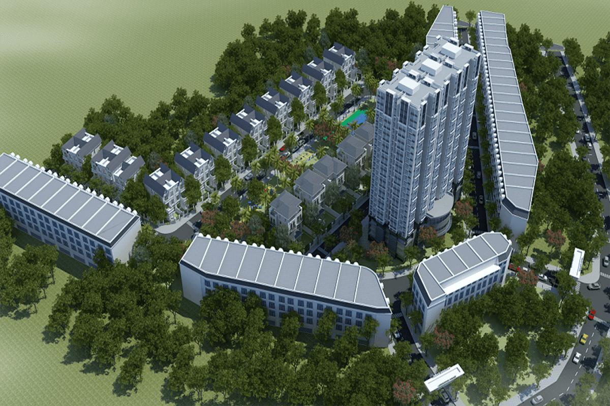 Phối cảnh dự án Dragon Park Văn Giang