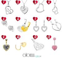 Logo Vinci gratis un gioiello in oro o argento modello Cuore di Gioielli Eshop
