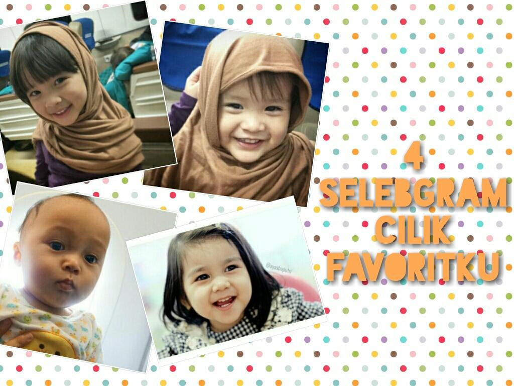 4 Selebgram Cilik Favoritku Cokelat Gosong By Hilda Ikka