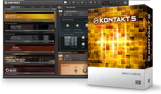 kontakt libraries disappearing