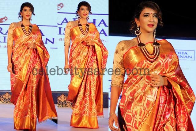 Lakshmi Manchu Benaras Saree
