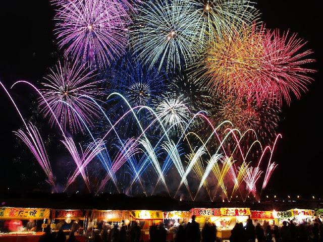 Nagano EBISKO - Fireworks Festival, Nagano   November 23