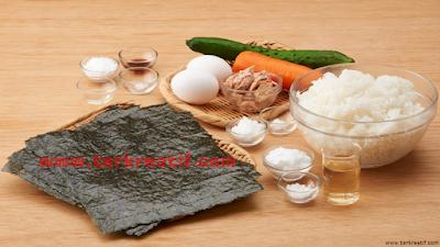 resep masakan jepang, bahan pembuatan sushi
