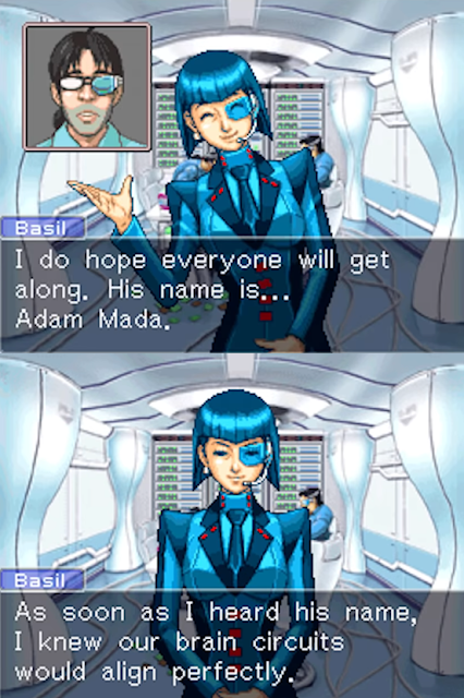 Lisa Basil Adam Mada Blue Screens Inc. Phoenix Wright Ace Attorney Trials & Tribulations credits