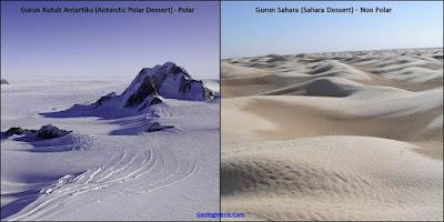 gurun sahara dan antartika